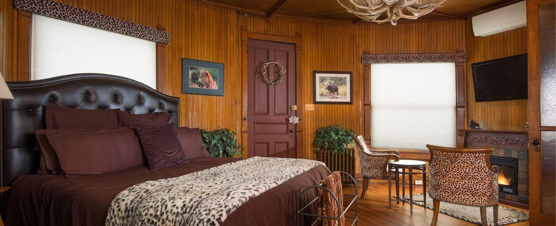 Trophy Room Reynolds Mansion Bellefonte PA BB